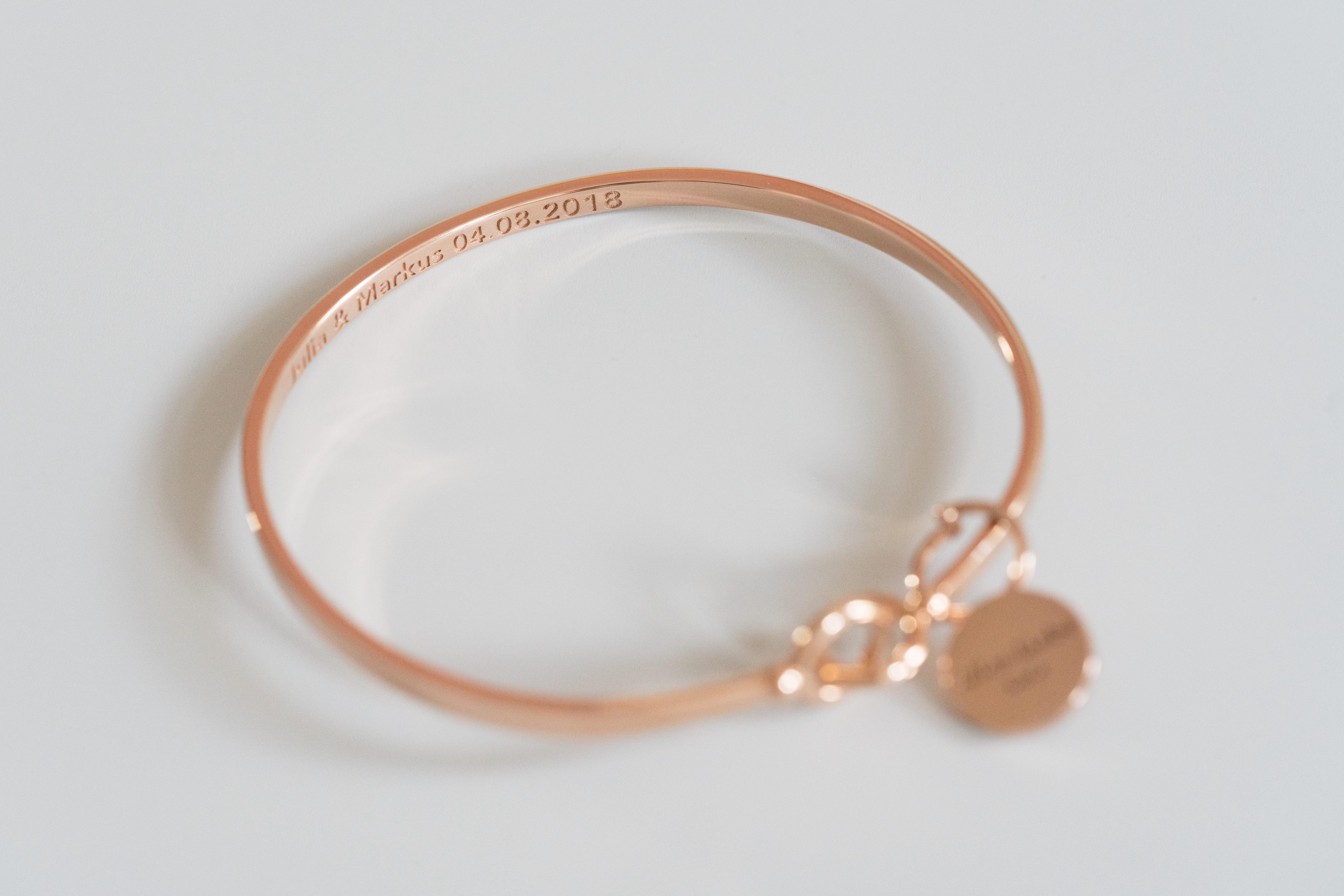 Weddingbracelet Roségold