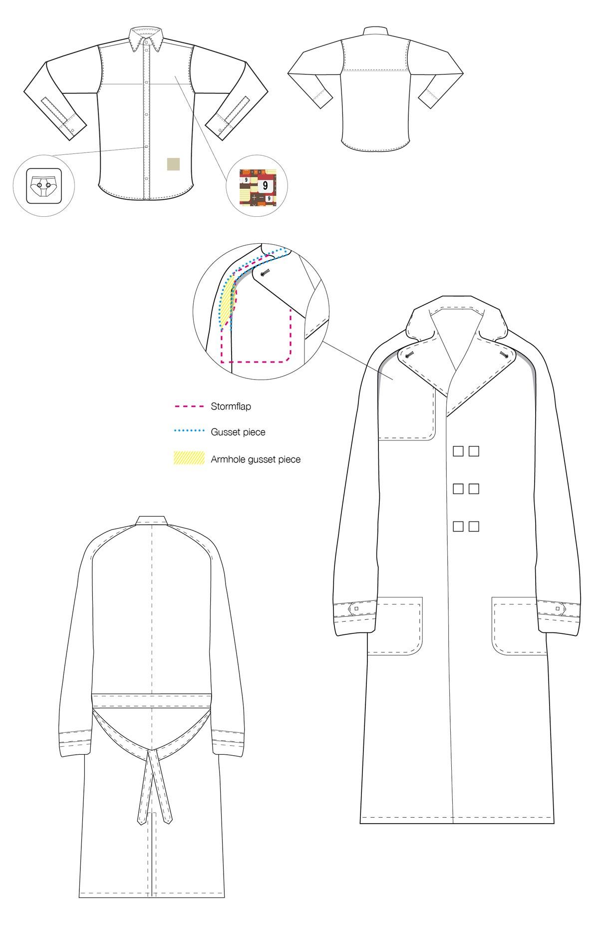 maria michael onnerboegs fashion designer menswear jewelry necklace plexiglas acrylglas portfolio work rounded edges