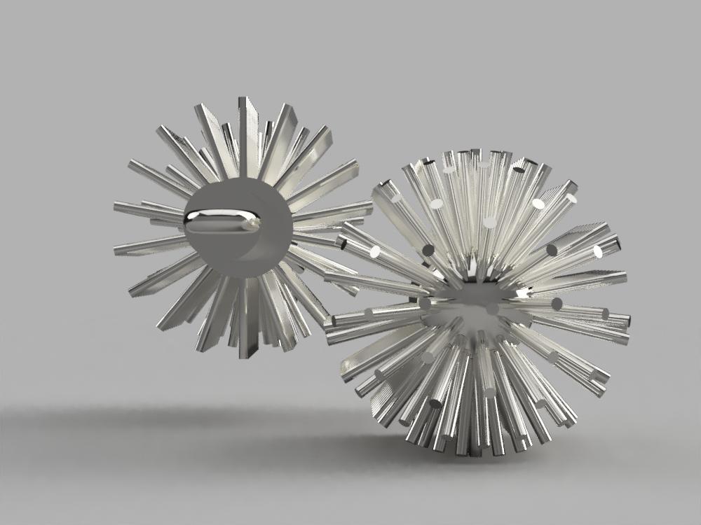toiletbrush spikes