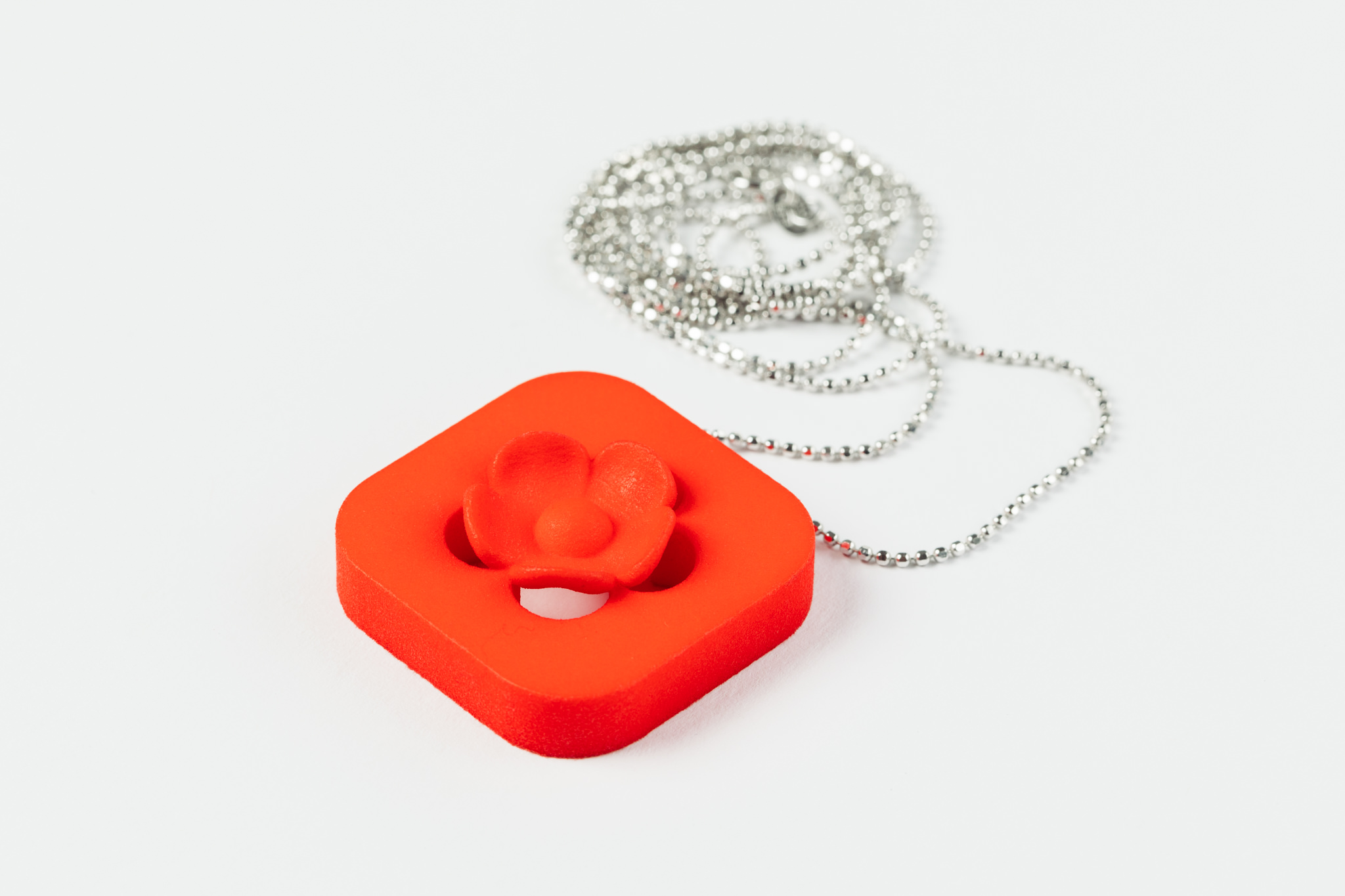 3D Printed Blossom Pendant